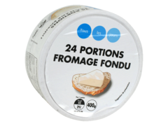 24 portions fromage fondu