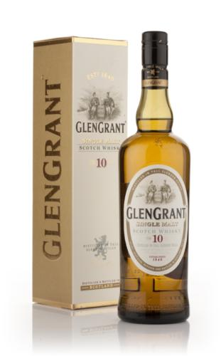 Scotch whisky single malt GLEN GRANT, 10 ans d'age, 40°, 70cl