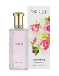 YARDLEY English Eau de Toilette Rose 125 ml