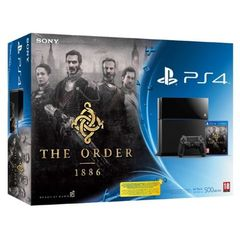 CONSOLE PS4 500GO + THE ORDER 1886