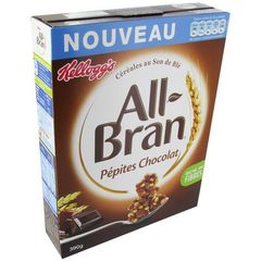 Cereales ALL BRAN Pepites au chocolat, 390g