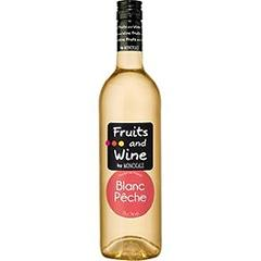 Fruits and Wine, Blanc Peche, la bouteille de 75 cl
