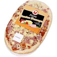 Pizza jambon fromage U, 180g