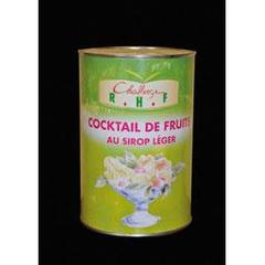 Challenge Rhf, Restauration, cocktail de fruits au sirop leger, la boite de 4040g