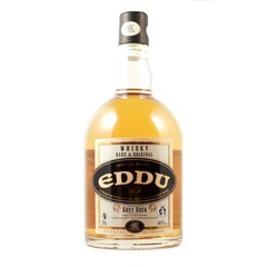 Whisky blend Eddu Grey Rock A base de blé noir 40% vol 70cl