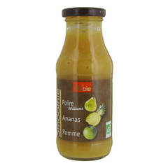 Smoothie - Pomme poire ananas 100% fruits - Source naturelle de fibre - Source naturelle de vitamine C