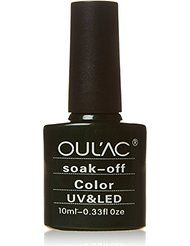 oulac Vernis à ongles gel UV/LED, Pretty Poison 10 ml