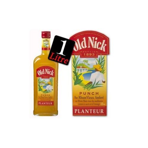 Punch planteur OLD NICK, 16°, 1l