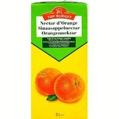 Nectar d'orange a base de jus d'orange concentre, la brick,2l