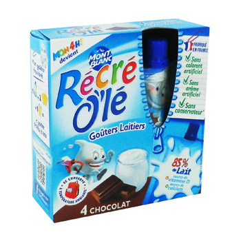 Gouters laitiers chocolat - Recre O'le