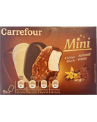 Mini glaces assortiment Carrefour