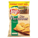 Lay's chips paysanne au sel 360g