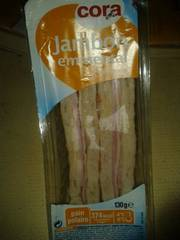 Cora club polaire jambon emmental 130 g