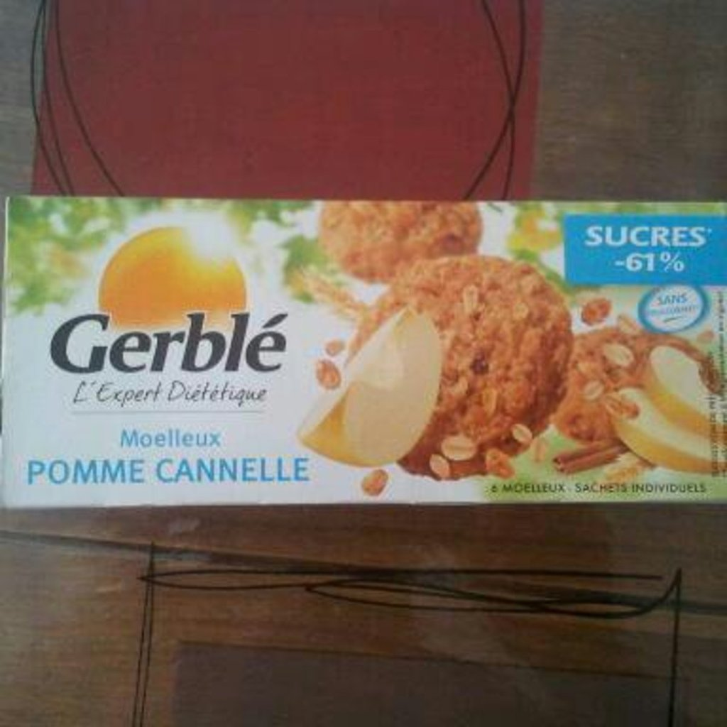 Moelleux pomme cannelle GERBLE