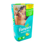 couches baby dry x54 taille 5 pampers