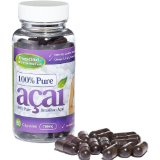 Evolution Slimming Flacon de capsules d'extrait de baie d'açai 700 mg