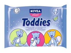 Lingettes Toddies Nivea Baby Recharge x60