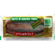 Filets de harengs fumés au naturel LEFORT, 200g