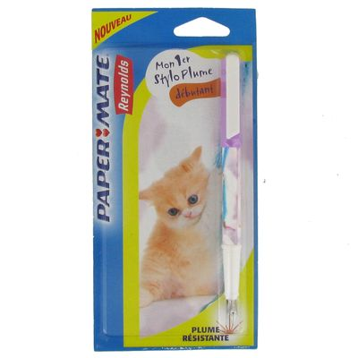 Mon Stylo Plume PAPERMATE By Reynolds, Animal Photo