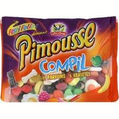 Assortiment de bonbons tendres Pimousse Compil LA PIE QUI CHANTE, 395g