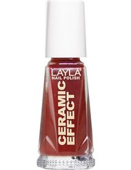 Layla Cosmetics Milano Céramique Effet Vernis à Ongles Red Passion 10 ml
