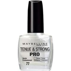 Gemey Tenue & Strong Pro vernis a ongles blanc nacre 77