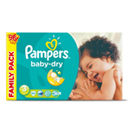 Pampers baby dry family 2x48 taille3