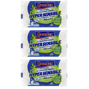 Spontex éponges l'hypersensible 100% recycle x4