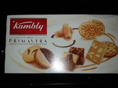 Assortiment biscuits suisses Primavera Kambly boîte 175g