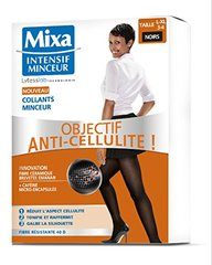 Collants minceur anti-cellulite T L-XL 3-4, noir