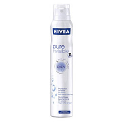 Deodorant Pure invisible NIVEA, 200ml
