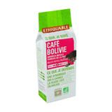Café moulu Bolivie bio ETHIQUABLE 250g