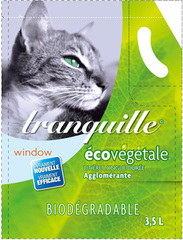 Litiere tranquille ecovegetale 3,5 litres biodegradable