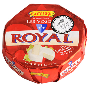Ermitage, Royal - Fromage cremeux a pate molle, le fromage de 250g
