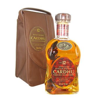Whisky Cardhu 12 ans + etui Single malt 40%vol. 70cl