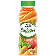 Smoothie carotte, pomme, the vert PIERRE MARTINET, 250ml