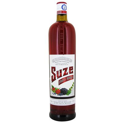 Aperitif SUZE gout fruits rouges, 15°, 1l