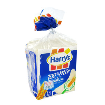 HARRYS 100% MIE NATURE GRANDES TRANCHES 500G