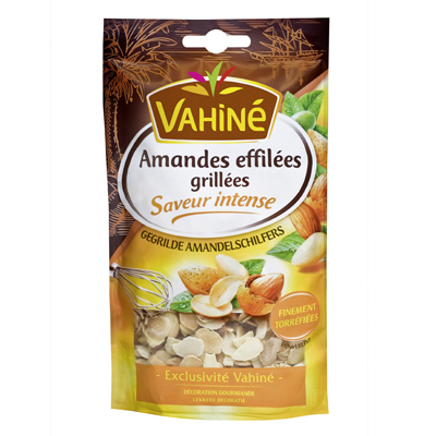 Vahine amandes effilees grillees 100g