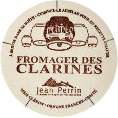 Fromage au lait pasteurise Le Fromager des Clarines, 22%MG, 250g