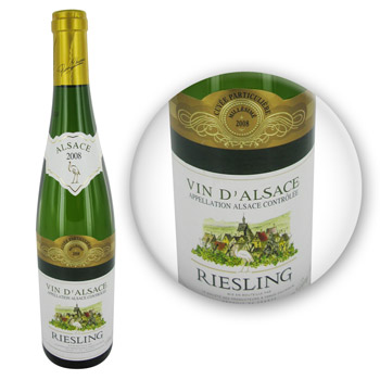 Pierre Chanau Riesling cuvee particuliere blanc 11,5° -75cl