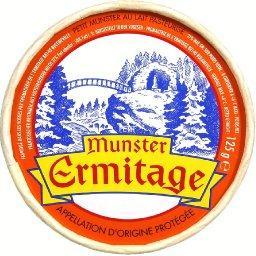 ermitage petit munster ermitage fabrique dans les vosges le fromage de 125g tous les. Black Bedroom Furniture Sets. Home Design Ideas