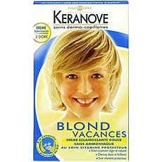 creme eclaircissante douce sans amoniaque blond vacances n1 1 x 1piece - Coloration Eclaircissante Blond