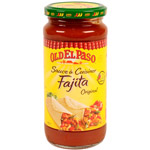 Old el Paso, Fajita Original, sauce douce a cuisiner, le pot de 395g