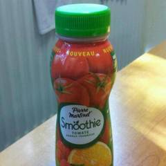Smoothie tomate, orange, framboise PIERRE MARTINET, 250ml