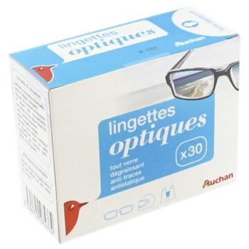 Lingettes optiques x 30 - Tous les produits produits pour les yeux ... acba5a74371b