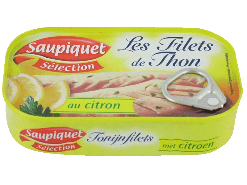 Filets de thon au citron