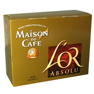 Cafe l'Or Absolu Maison du Cafe Paquet 2X250g