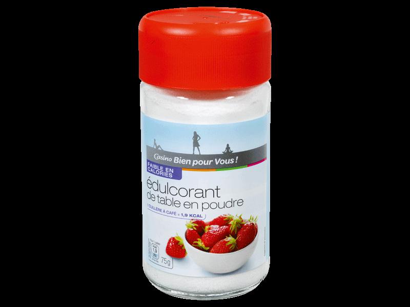 edulcorant en poudre d 39 aspartame 75g tous les produits