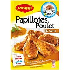 Maggi papillote poulet curry 30g